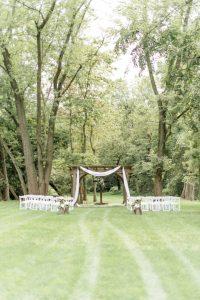 Maggie + Brian's Magical Micro-wedding